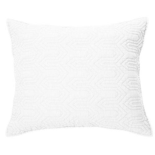 Alix white cushion cover